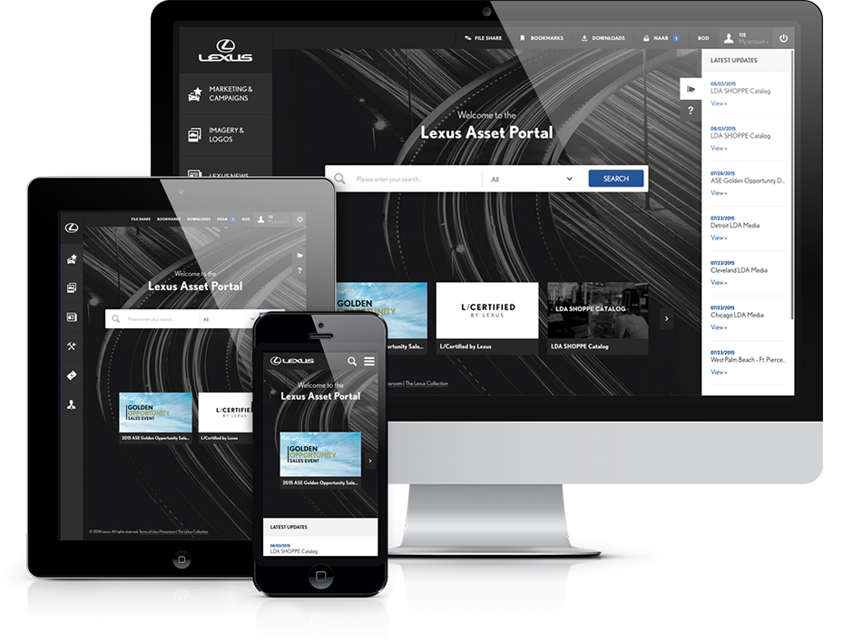 Lexus Asset Portal
