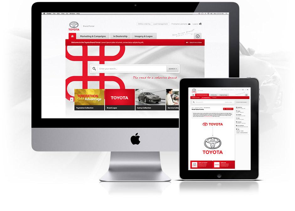 Toyota Brand Portal